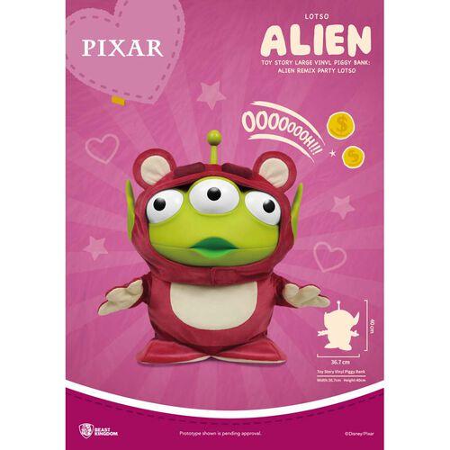 Toy Story反斗奇兵 大型搪膠存錢筒 三眼怪變裝派對 熊抱哥款