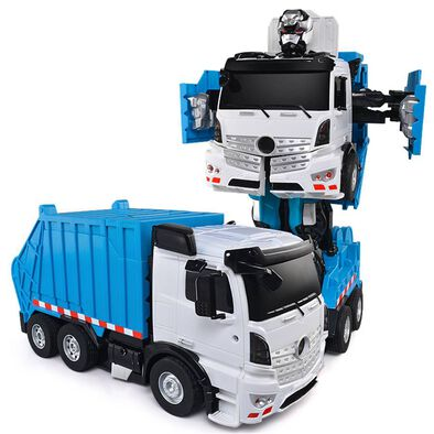 Konsept Rc Transforming Garbage Truck (With Voice Control)