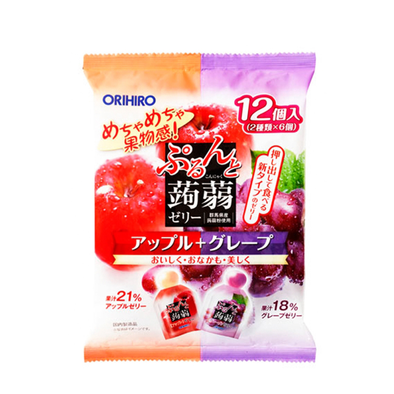 Orihiro Konjak 蘋果提子蒟蒻 240g (20g x 12個)