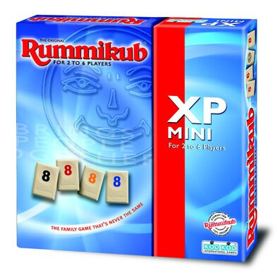 Rummikub魔力橋數字牌遊戲 6人旅行裝