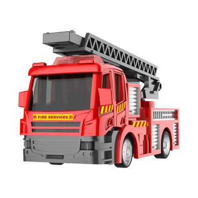 Konsept Mini 1:72 Rc Hk Fire Service Turntable Ladder Truck