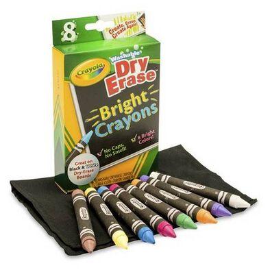 Crayola繪兒樂 可擦閃閃蠟筆旅組合