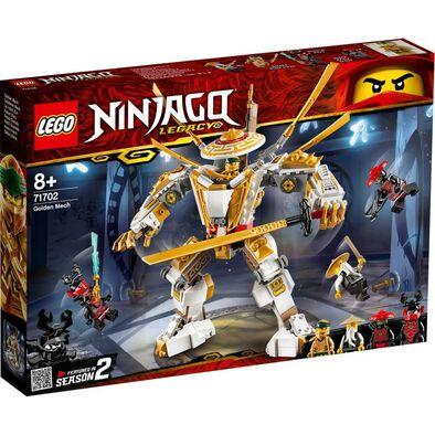 LEGO樂高幻影忍者系列 黃金機甲 71702