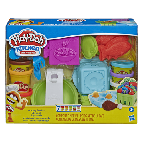Play-Doh培樂多 小煮意系列 食材小超市