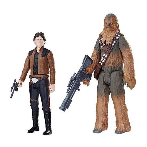 "Star Wars星球大戰12""人偶孖裝"