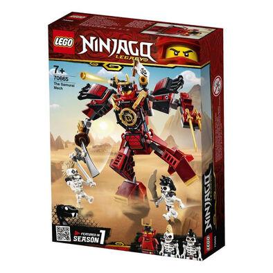 LEGO樂高幻影忍者系列武士機械人 70665