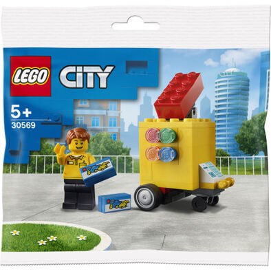 LEGO樂高城市系列 流動玩具店  - 30569  -  隨機發貨 - 非賣品