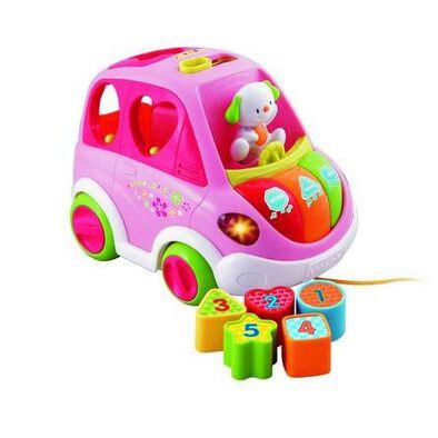 Vtech偉易達 粉紅版小狗學習車