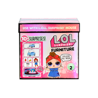 L.O.L. Surprise!驚喜寶貝 傢俬主題娃娃 - 隨機發貨
