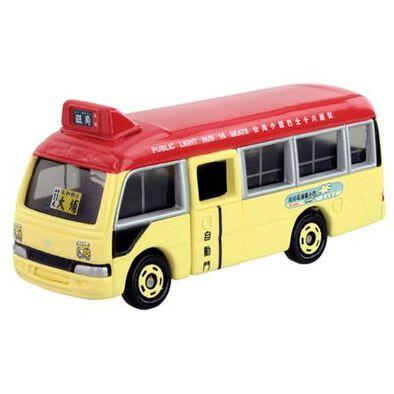 Tomica Hong Kong Public Light Bus (Red)