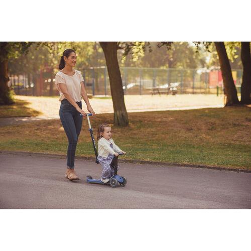Globber高樂寶 Go•Up Sporty Lights Pastel 藍色滑板車