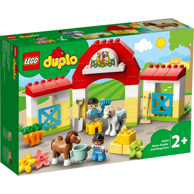 LEGO Duplo Horse Stable and Pony Care - 10951