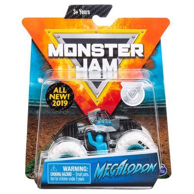 Monster Jam瘋狂大腳怪 1:64 合金車仔 單件裝 - 隨機發貨