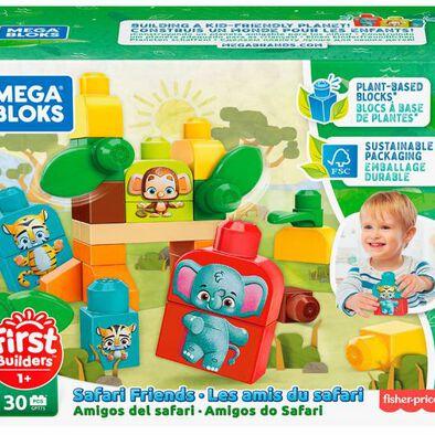 Mega Bloks 美高環保系列大積木-野生動物
