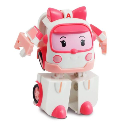 Robocar Poli救援小英雄波力 變形機器人-安寶