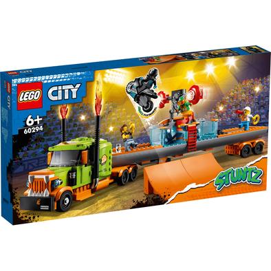 LEGO樂高城市系列 特技表演卡車 60294