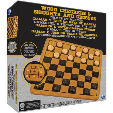 木製西洋跳棋