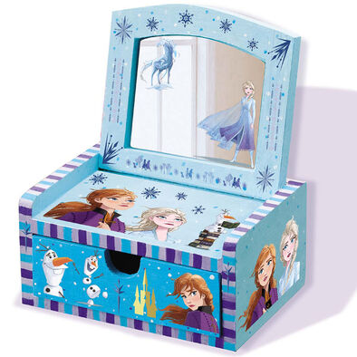 4M Frozen II Design Your Own Wooden Mirror Chest