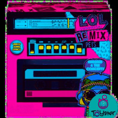 L.O.L. Surprise!驚喜寶貝 Remix寵物 - 隨機發貨