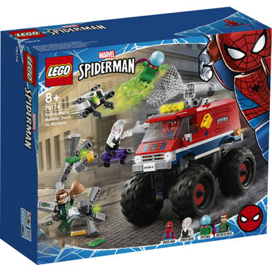 LEGO樂高漫威超級英雄系列 Spider-Man's Monster Truck vs. Mysterio - 76174