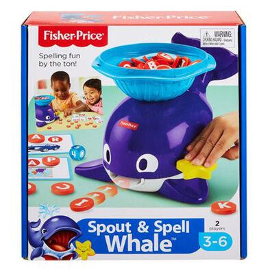 Fisher-Price費雪 串字學習小鯨魚