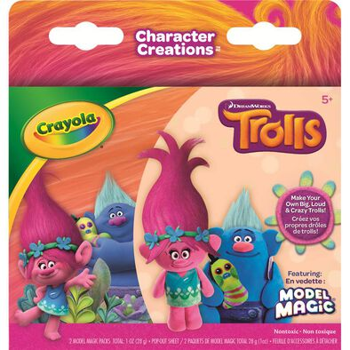 Crayola繪兒樂crayola Model Magic,Trolls, Poppy