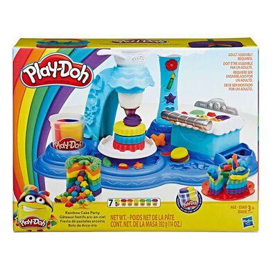 Play-Doh培樂多彩虹蛋糕派對