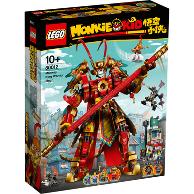 LEGO Monkie Kid Monkie King Warrior Mech 80012
