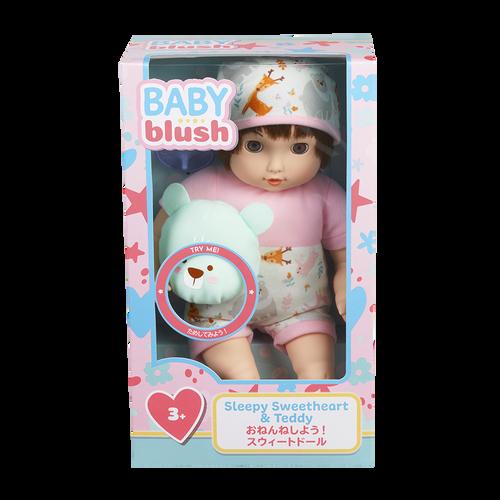 Baby Blush 親親寶貝  甜心睡寶寶及泰迪熊