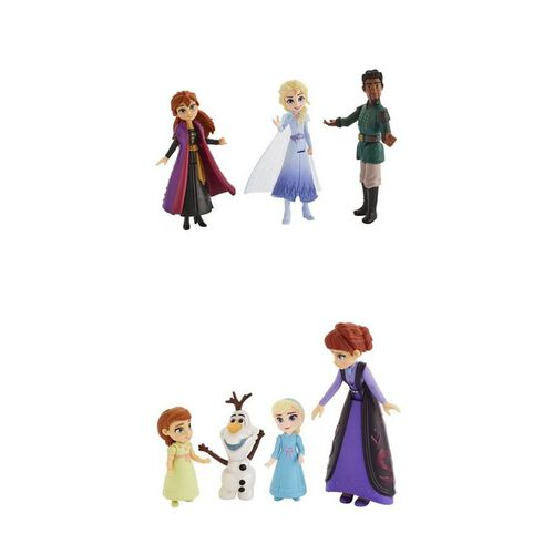 Disney Frozen迪士尼魔雪奇緣 2 Q版公主玩偶情景套裝 - 隨機發貨