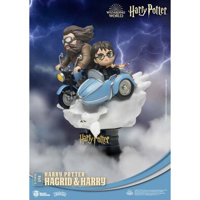 Harry Potter Hagrid And Harry