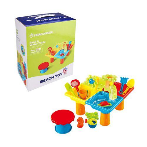 Merconser美勤訊 沙灘玩具套裝(沙灘桌) 25件