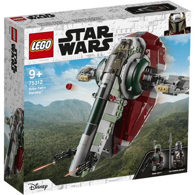 LEGO樂高 Boba Fett's Starship 75312