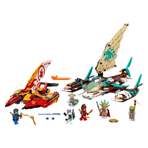 LEGO Ninjago Catamaran Sea Battle - 71748