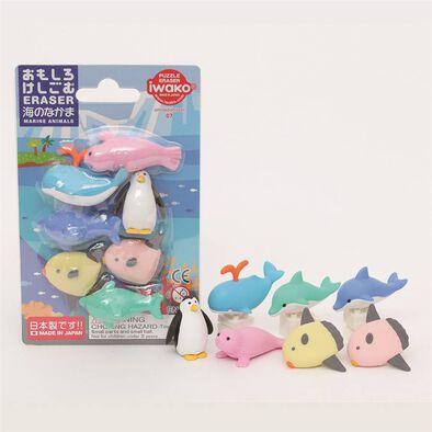 Iwako岩澤 海洋動物造型擦膠