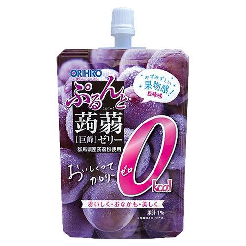 Orihiro Konjak 零卡路里巨峰提子味蒟蒻飲品 130G