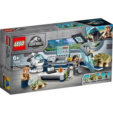 LEGO Dr. Wu's Lab: Baby Dinosaurs Breakout 75939