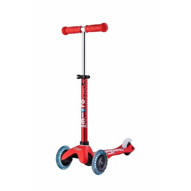 Micro Mobility Mini Micro Deluxe Red Led Scooter