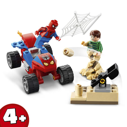 LEGO Marvel Super Heroes Spider-Man and Sandman Showdown  -  76172