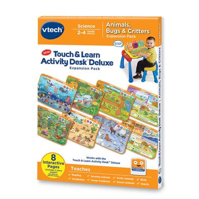 Vtech T&L Activity Desk- Animals Bugs Critters