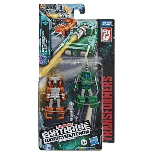 Transformers變形金剛 世代斯比頓之戰:地球崛起迷形金剛系列巡邏小隊 - 隨機發貨