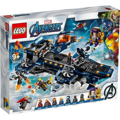 LEGO Marvel Avengers Movie 4 Avengers Helicarrier 76153