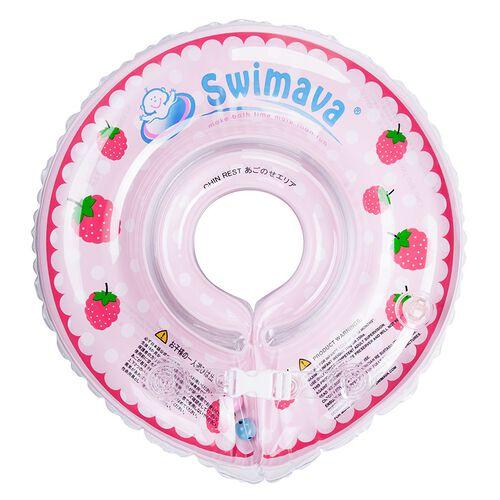 Swimava 嬰兒游泳圈 - 紅莓