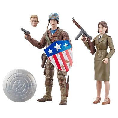 Marvel漫威 80 週年美國隊長和佩吉卡特