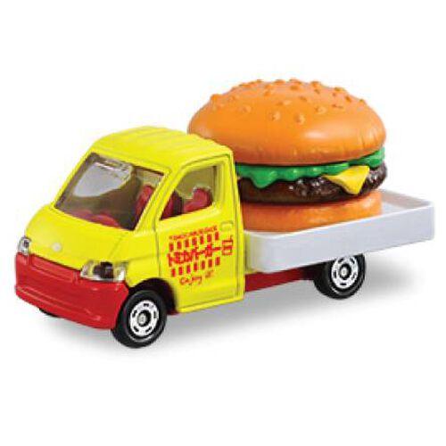 Tomica多美 車仔no. 54 豐田汽車 Townace Hamburger Car