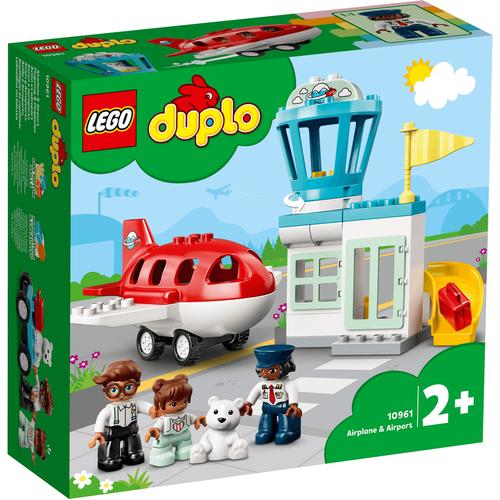 LEGO樂高得寶系列 飛機和機場 10961