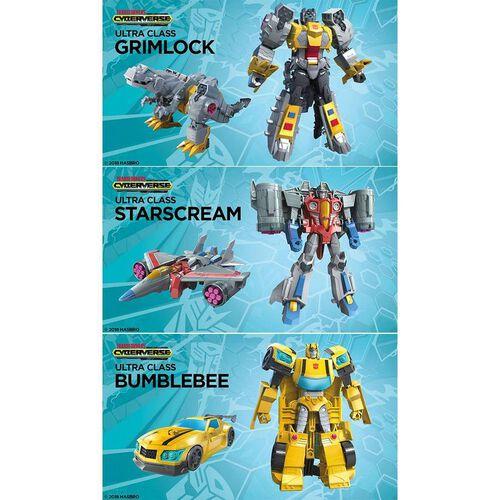Transformers變形金剛賽博斯宇宙系列 斯比頓傳奇強者系列 - 隨機發貨