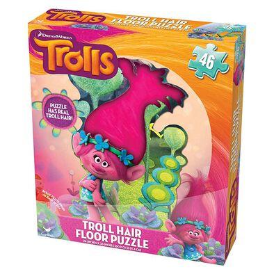 Trolls魔髮精靈 立體頭髮拼圖