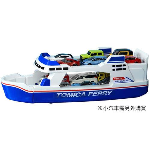 Tomica多美小汽車 收納渡輪