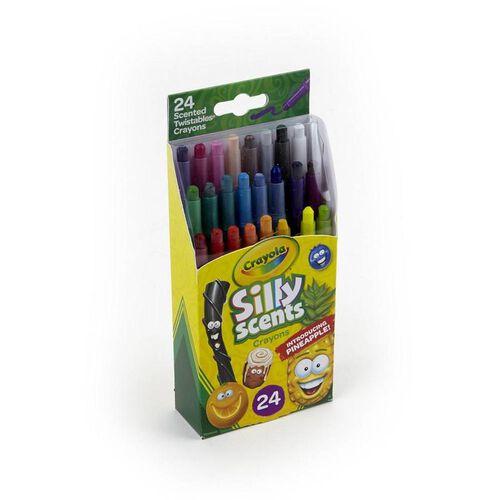 Crayola繪兒樂 百變香味系列迷你可擰轉旋轉蠟筆24支裝